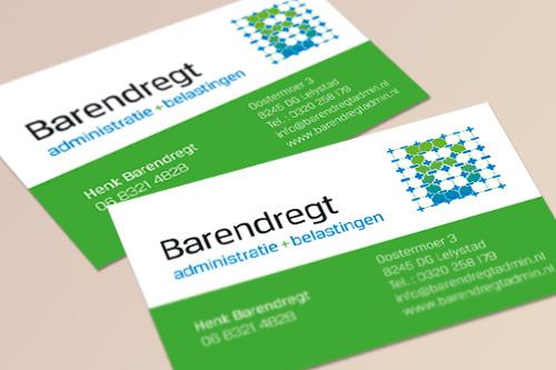 visitekaartje Barendregt
