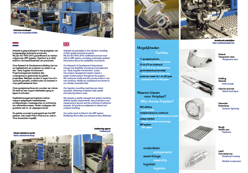 Daly Plastics recycling brochure