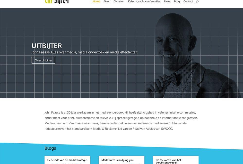 Uitbijter website ontwerp