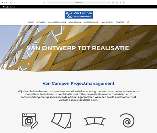 Van Campen projectmanagement